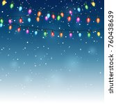 abstract beauty christmas and...   Shutterstock . vector #760438639
