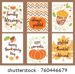 cartoon vector hand drawn... | Shutterstock .eps vector #760446679