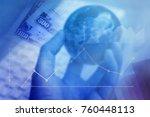 economic globalization concept | Shutterstock . vector #760448113
