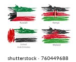 collection set of flags... | Shutterstock .eps vector #760449688