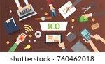it startup crowdfunding....   Shutterstock .eps vector #760462018