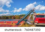 carlisle  ma  usa   october 17  ... | Shutterstock . vector #760487350