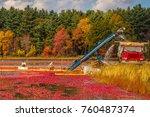 carlisle  ma  usa   october 17  ... | Shutterstock . vector #760487374