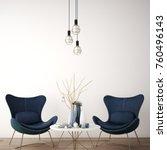 interior design for reception... | Shutterstock . vector #760496143