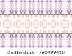 colorful horizontal pattern for ... | Shutterstock . vector #760499410