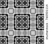 black and white pattern for... | Shutterstock . vector #760501114