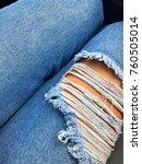 pants jeans fashion | Shutterstock . vector #760505014
