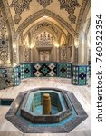 Small photo of inside the Sultan Amir Ahmad bathhouse, the oldest and most famous bath house in Kashan, Iran