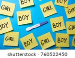 how to know the gender of the... | Shutterstock . vector #760522450