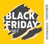 black friday universal banner.... | Shutterstock .eps vector #760529854