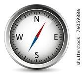 compass   vector. easy to edit. | Shutterstock .eps vector #76059886