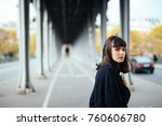 female beauty concept. portrait ... | Shutterstock . vector #760606780
