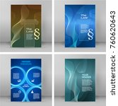 set design elements modern... | Shutterstock .eps vector #760620643
