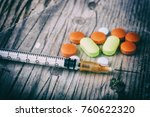 drug addiction and chemsex... | Shutterstock . vector #760622320