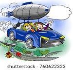 cartoon illustration of a...   Shutterstock . vector #760622323