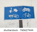 four types of vehicle allowed... | Shutterstock . vector #760627444