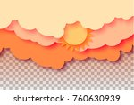 3d abstract illustration of... | Shutterstock .eps vector #760630939