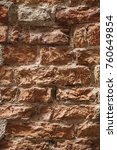 brick wall in venice | Shutterstock . vector #760649854