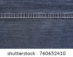 texture background jeans with... | Shutterstock . vector #760652410