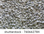 texture of pieces of ceramics... | Shutterstock . vector #760662784