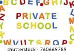 educational systems made out of ... | Shutterstock . vector #760669789