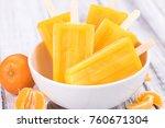 portion of fresh homemade...   Shutterstock . vector #760671304