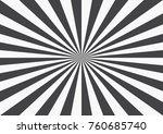 radial rays background. retro... | Shutterstock .eps vector #760685740