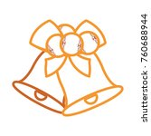 christmas bells icon    Shutterstock .eps vector #760688944