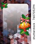 christmas  holiday background...   Shutterstock .eps vector #760705294