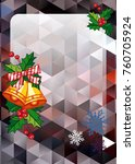 christmas  holiday background...   Shutterstock .eps vector #760705924