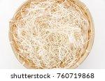shredded paper paper cushion... | Shutterstock . vector #760719868