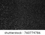 silver glitter abstract bokeh... | Shutterstock . vector #760774786