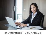 asian businesswomen and group...   Shutterstock . vector #760778176