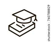 e learning line icon. high... | Shutterstock .eps vector #760788829