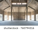 unfurnished empty house | Shutterstock . vector #760794316