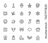 mini icon set   christmas icon...