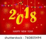 vector design of happy new year ...