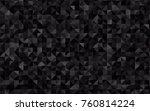dark silver  gray vector... | Shutterstock .eps vector #760814224