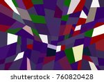 color block abstract background | Shutterstock . vector #760820428