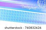sport banner in vector....   Shutterstock .eps vector #760832626