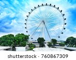 The Singapore Flyer Is A Giant...