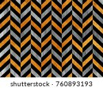 golden and silver painted... | Shutterstock . vector #760893193