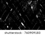 grunge black and white pattern. ... | Shutterstock . vector #760909183
