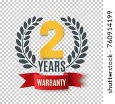 two years warranty background... | Shutterstock .eps vector #760914199