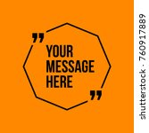 innovative vector quotation... | Shutterstock .eps vector #760917889