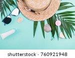 feminine accessories for...   Shutterstock . vector #760921948
