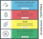 pest control web banner... | Shutterstock .eps vector #760939864