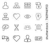 thin line icon set   man ...   Shutterstock .eps vector #760946953