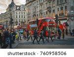 london  uk   november 2017.... | Shutterstock . vector #760958506