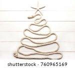Christmas Tree Made Of Marine...